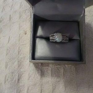 SS Opal ring